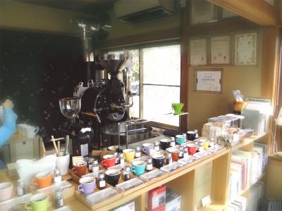 03太山寺焙煎珈琲さん中の様子